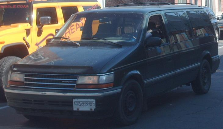 Plymouth Voyager 1992 #12