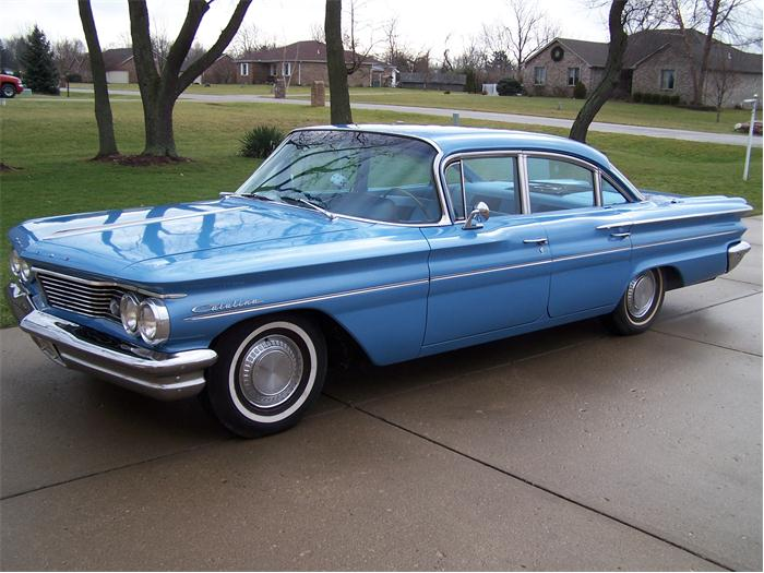 1960 Pontiac Catalina Information And Photos Momentcar