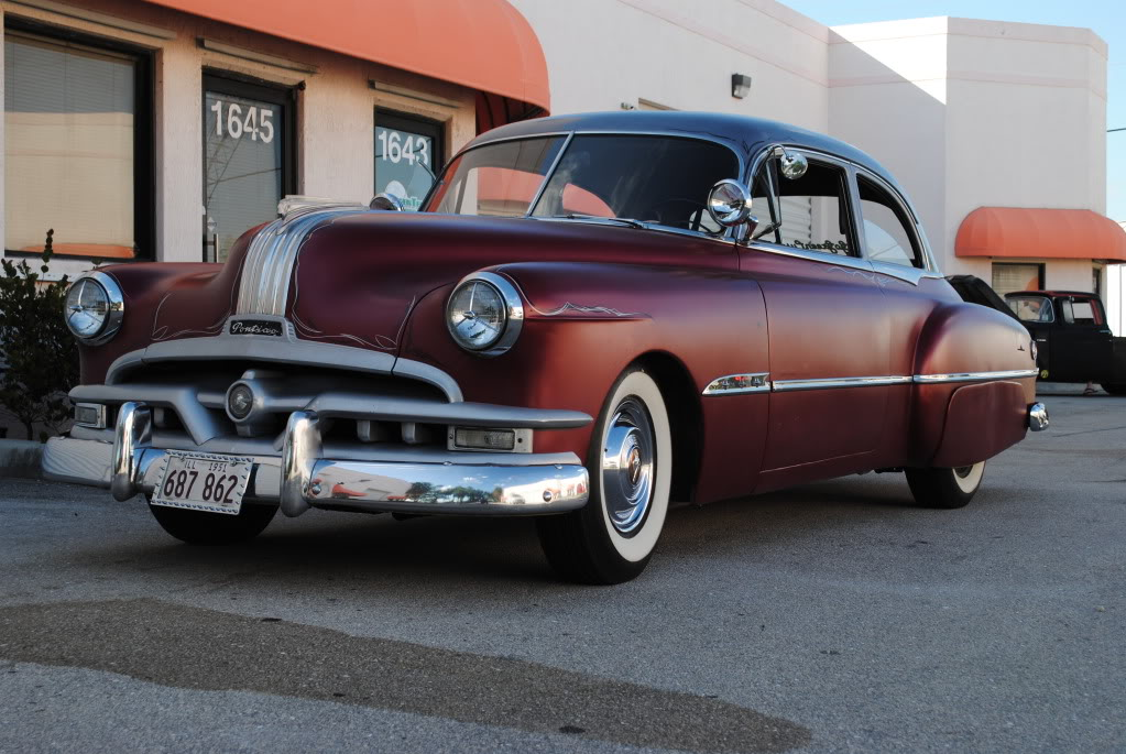 1951 Pontiac Chieftain Information And Photos Momentcar