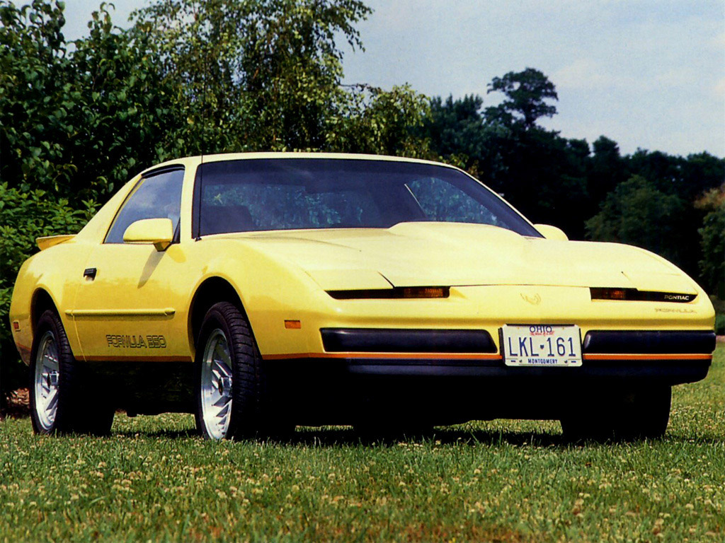 1987 Pontiac Firebird  Information and photos  MOMENTcar