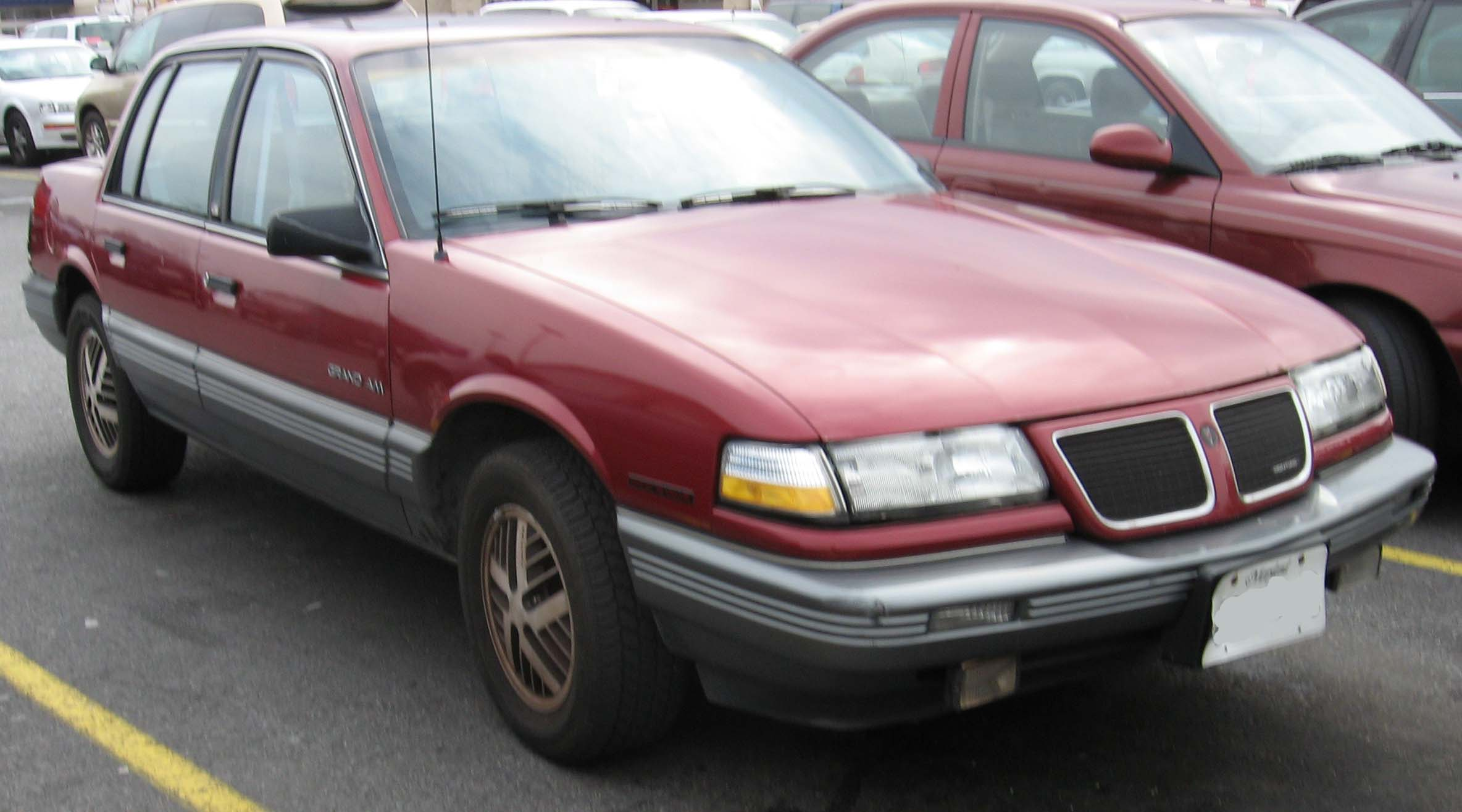 Pontiac Grand Am on 1990 acura 2 door