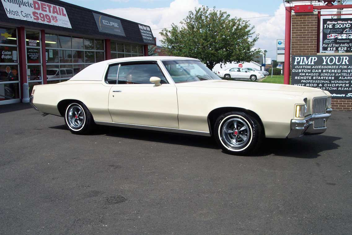 1971 Pontiac Grand Prix Information And Photos Momentcar
