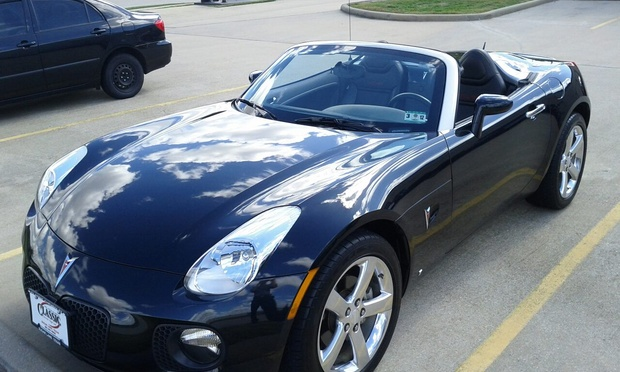 2008 Pontiac Solstice Blue 200 Interior And Exterior Images
