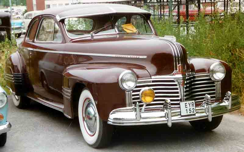 1942 Pontiac Torpedo Information And Photos Momentcar