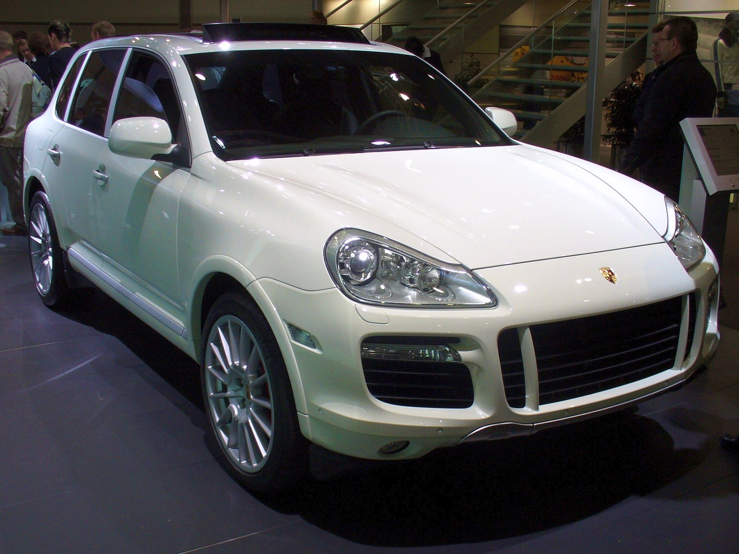 2008 porsche cayenne information and photos momentcar. Black Bedroom Furniture Sets. Home Design Ideas