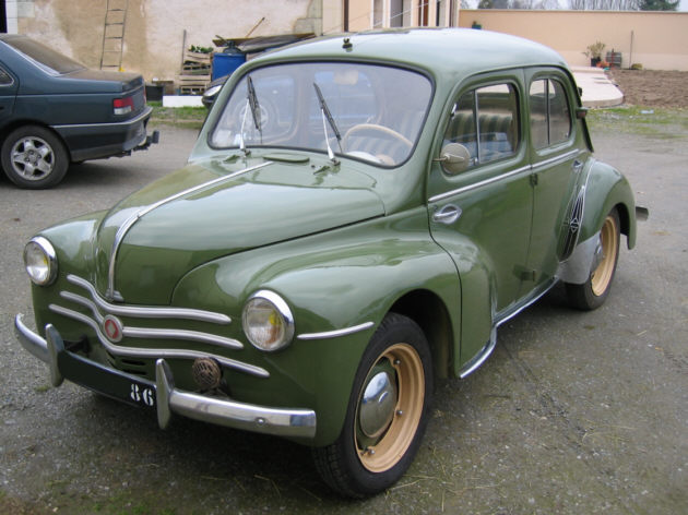 1946 renault 4cv information and photos momentcar. Black Bedroom Furniture Sets. Home Design Ideas