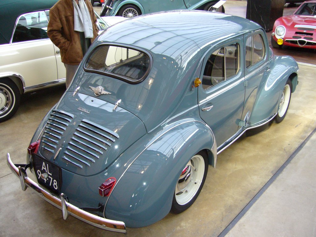 1949 renault 4cv - information and photos