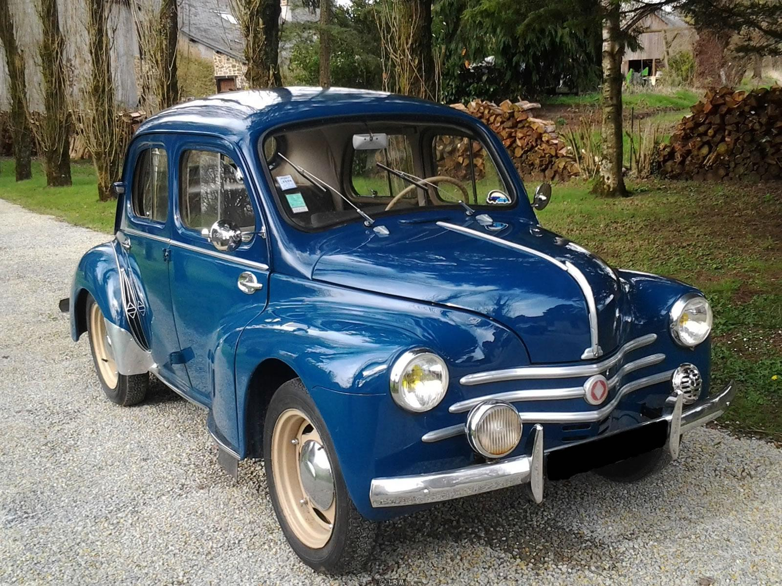 1951 renault 4cv - information and photos