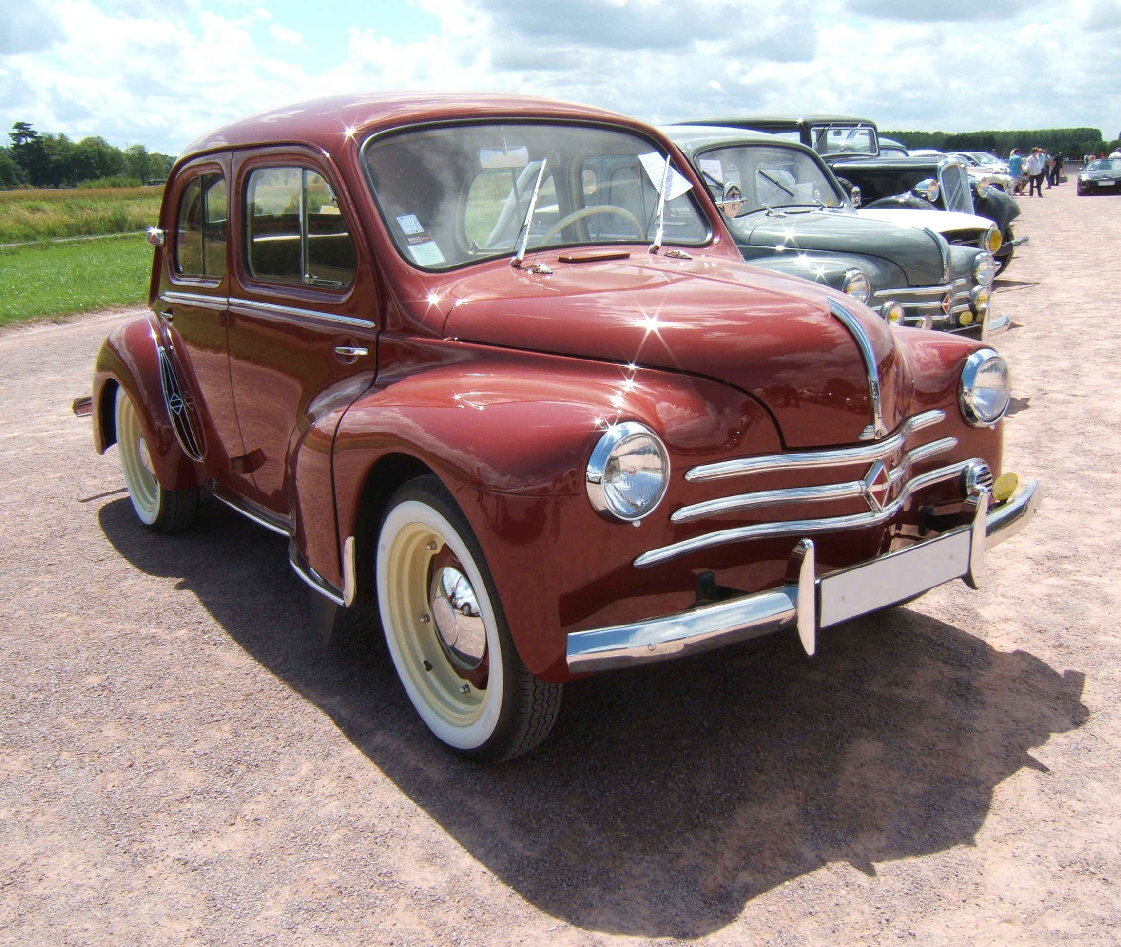 1953 renault 4cv information and photos momentcar. Black Bedroom Furniture Sets. Home Design Ideas