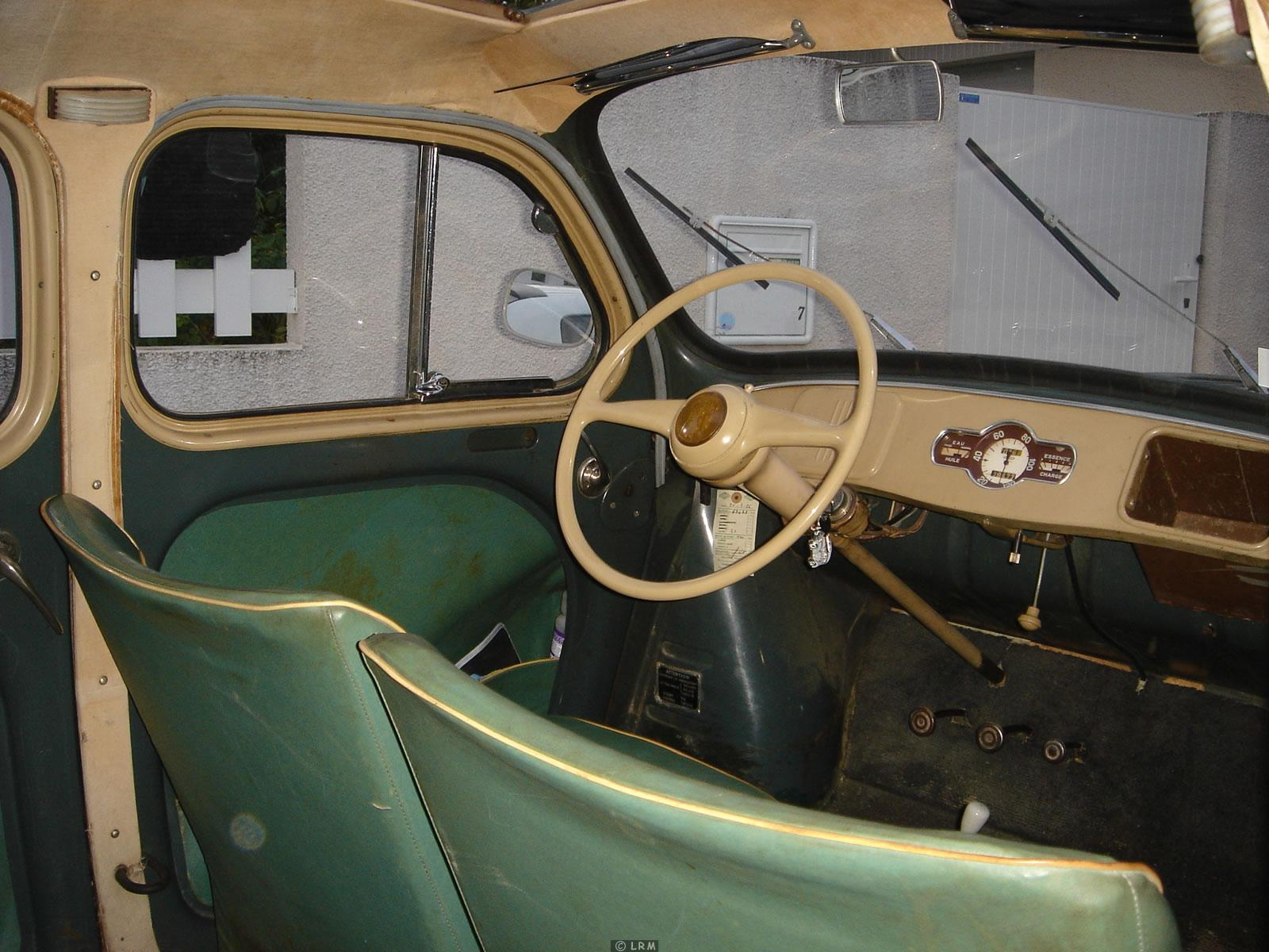 1953 renault 4cv information and photos momentcar for Interieur 4cv renault
