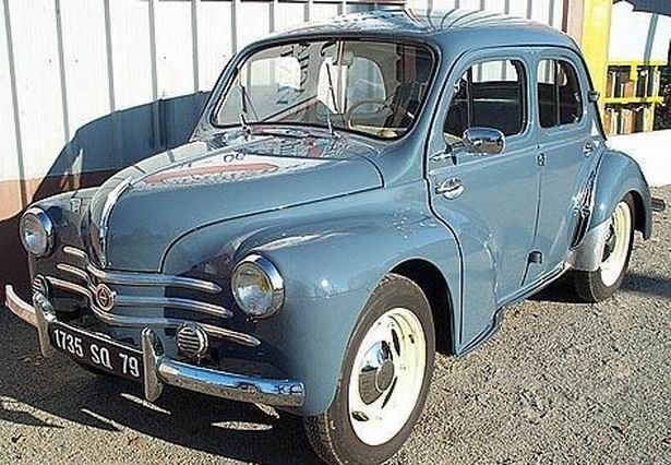 1954 renault 4cv - information and photos