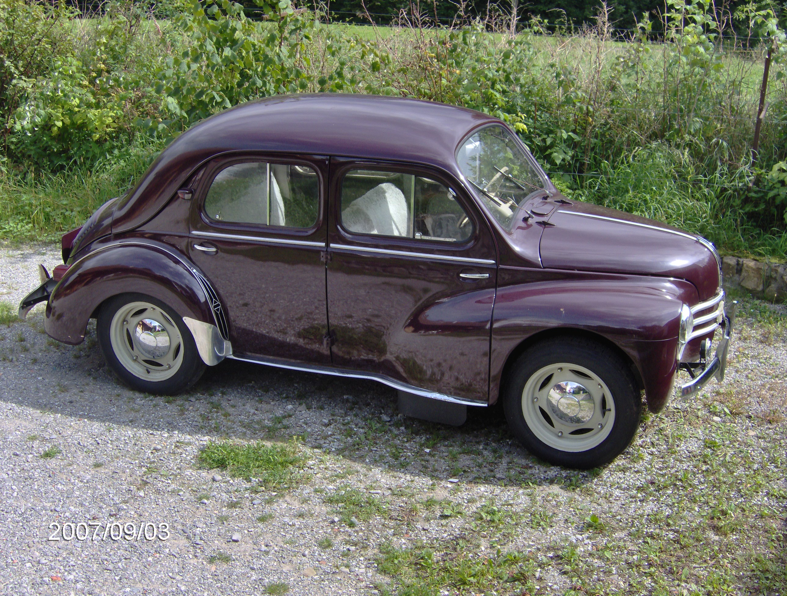 1955 renault 4cv information and photos momentcar. Black Bedroom Furniture Sets. Home Design Ideas