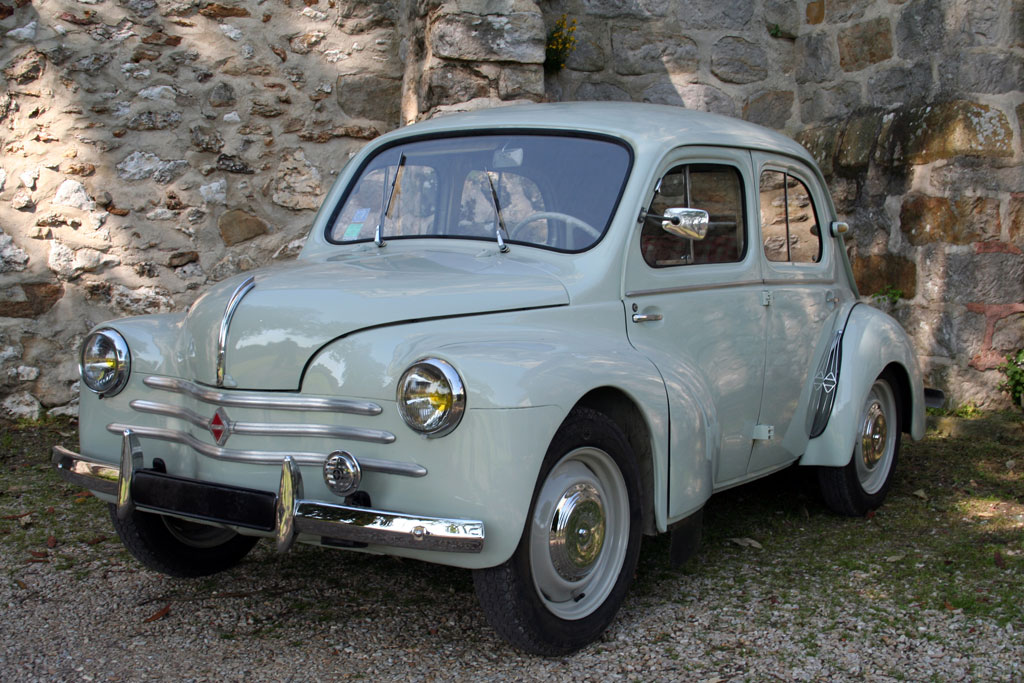 1958 Renault 4cv Information And Photos Momentcar