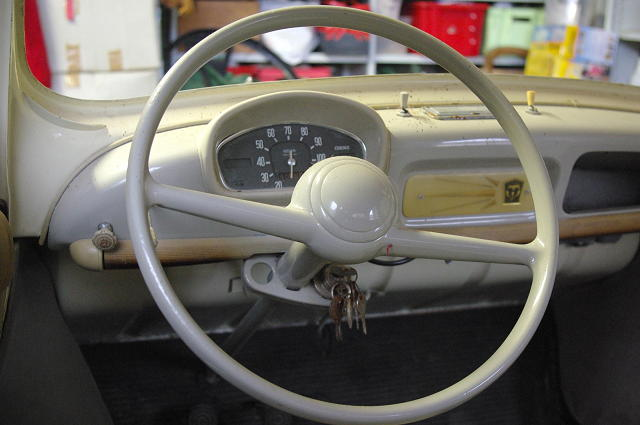 1959 renault 4cv information and photos momentcar for Interieur 4cv renault