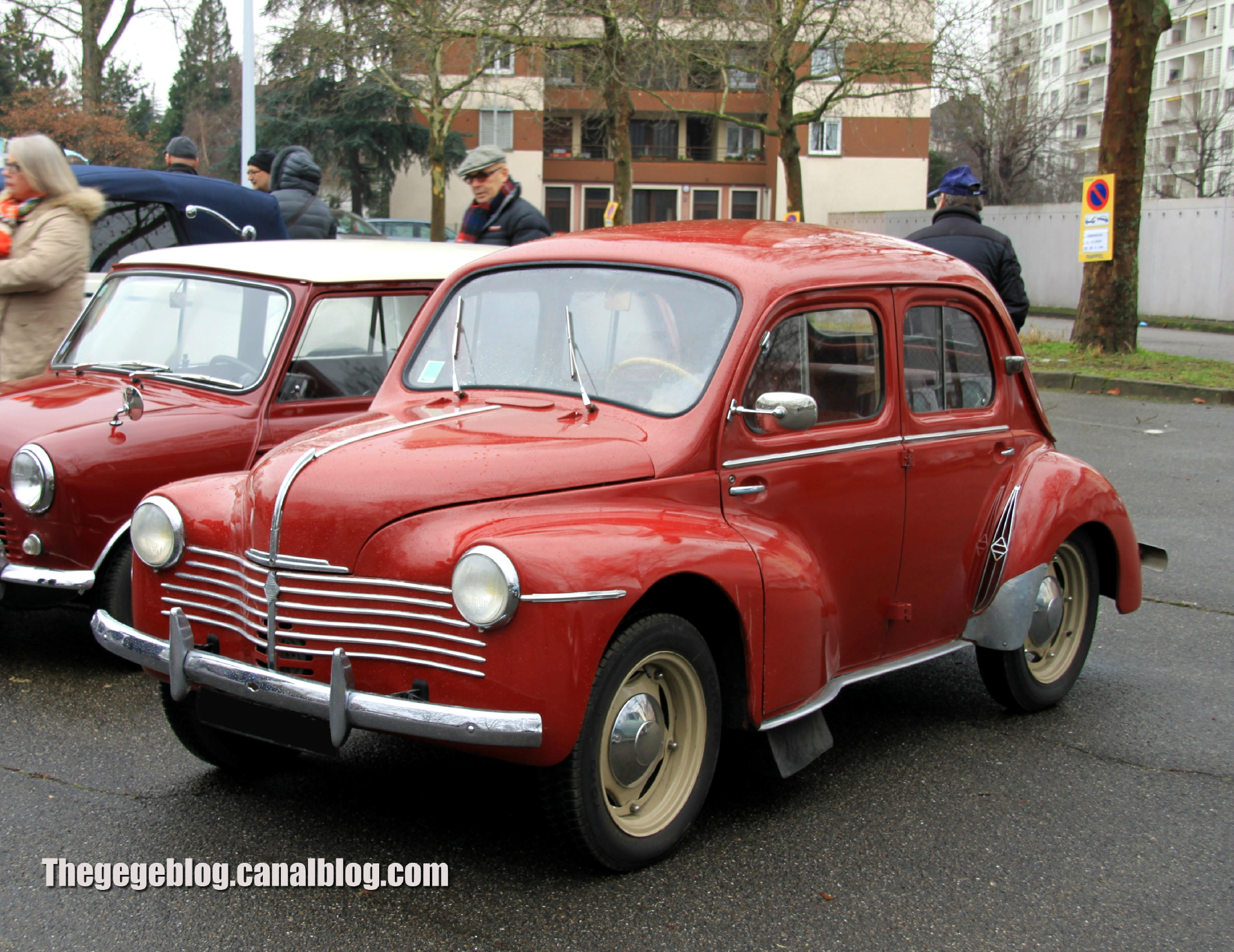 1960 renault 4cv - information and photos