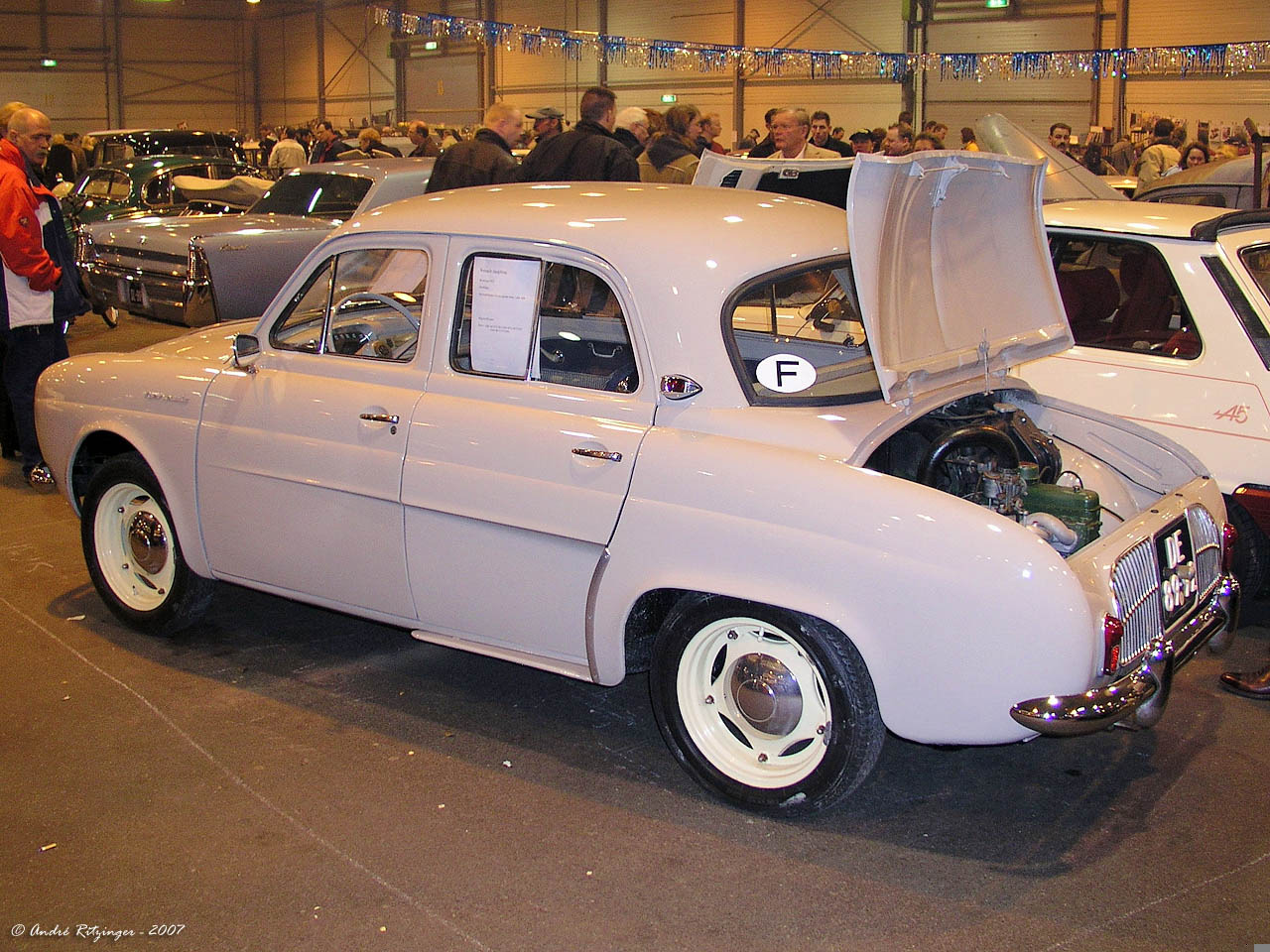1957 Renault Dauphine Information And Photos Momentcar