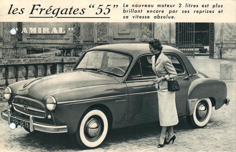 1953 Renault Fregate - Information and photos - MOMENTcar