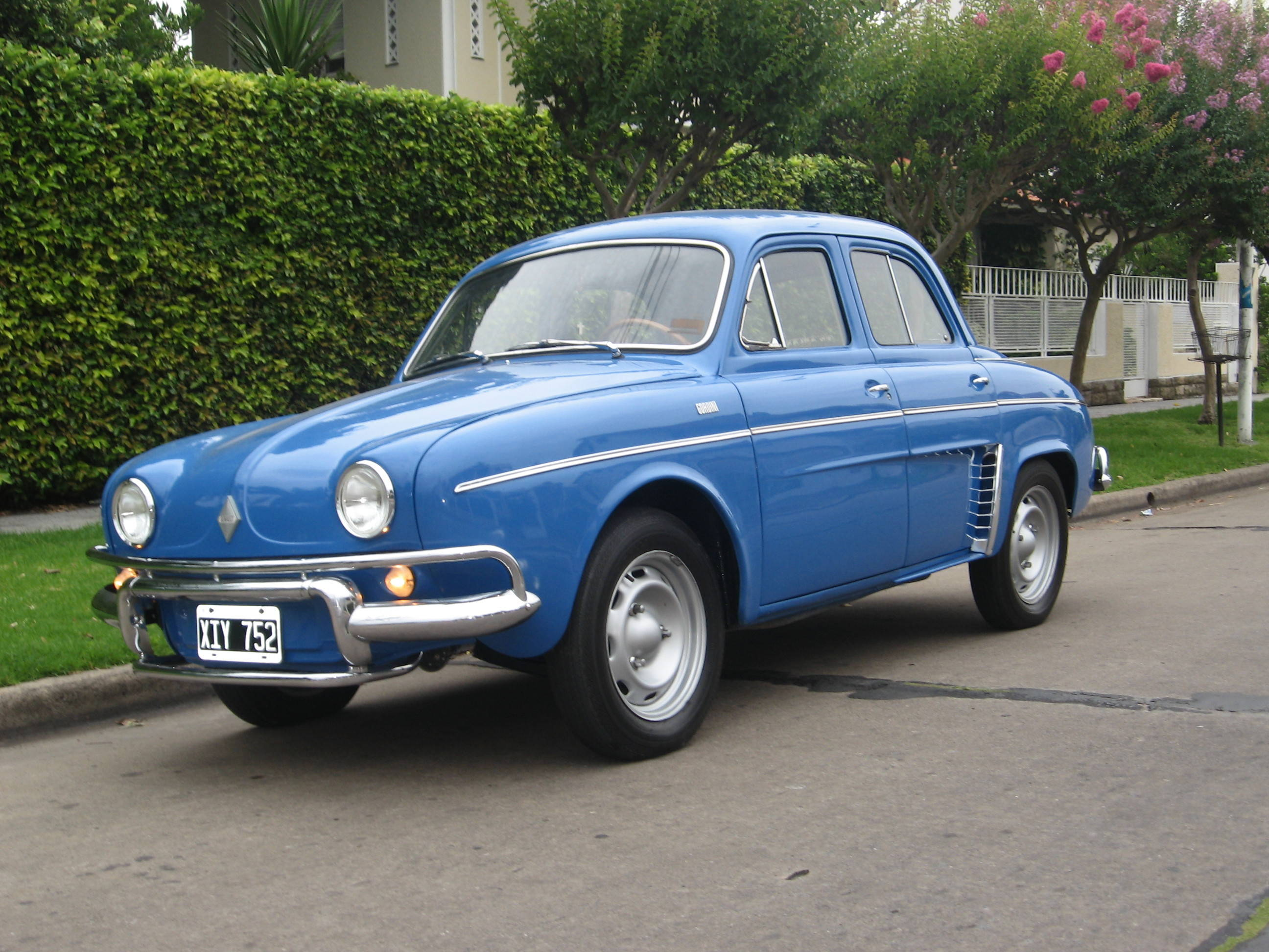 1961 Renault Gordini Information And Photos Momentcar