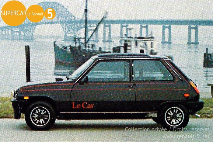 1978 renault lecar information and photos momentcar. Black Bedroom Furniture Sets. Home Design Ideas