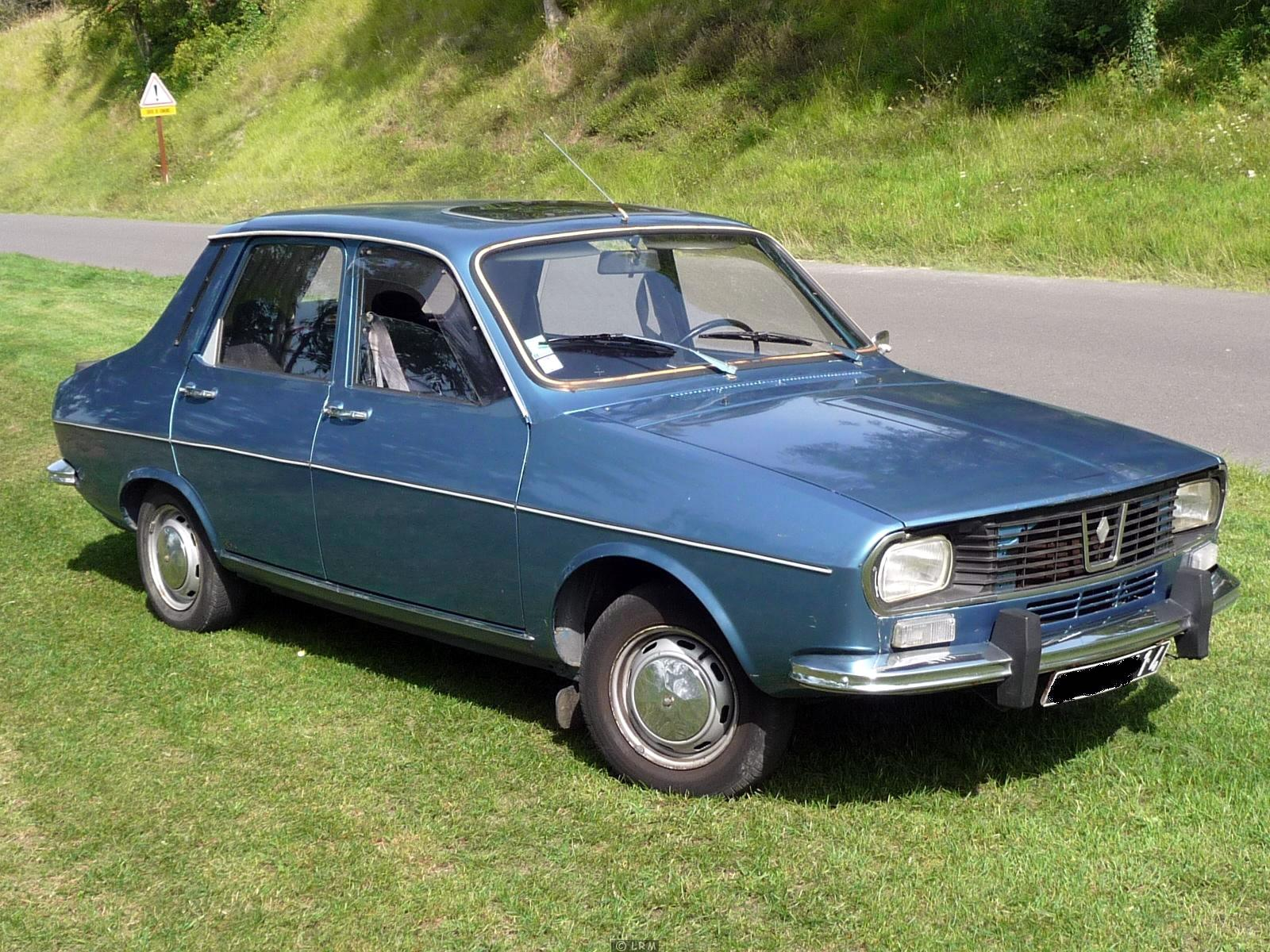 1975 Renault R-12 - Information and photos - MOMENTcar