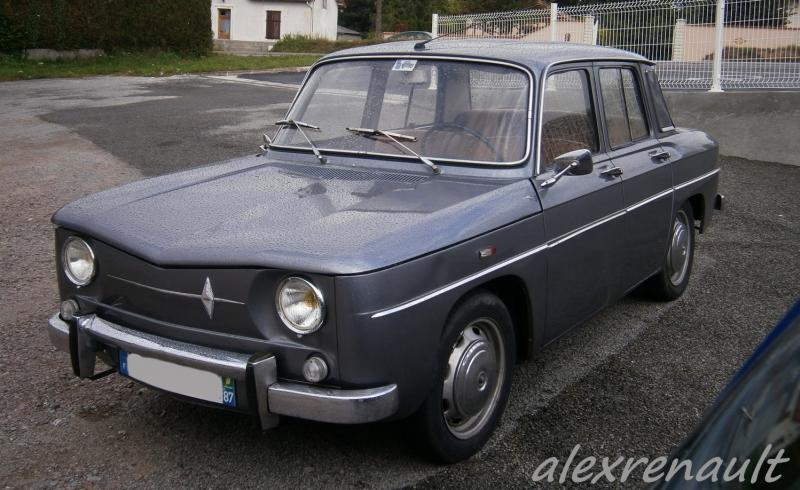 1964 renault r8 information and photos momentcar. Black Bedroom Furniture Sets. Home Design Ideas