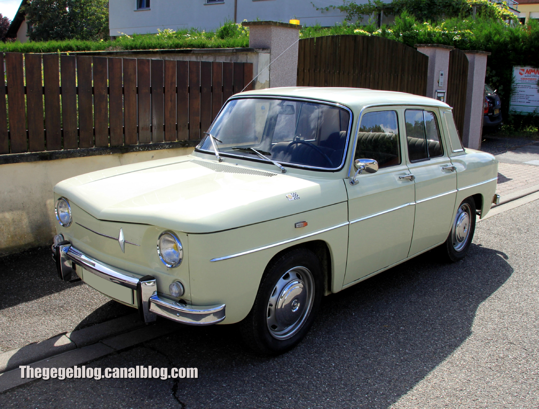 1965 Renault R8 Information And Photos Momentcar