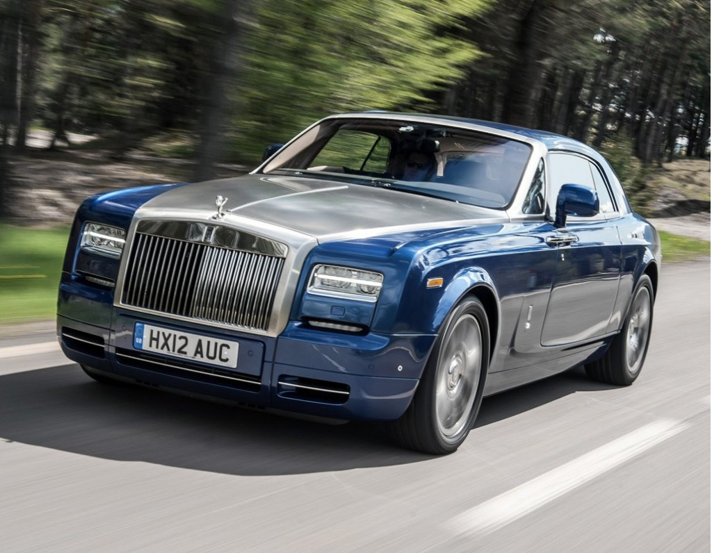 Rolls-Royce Phantom Coupe 2014 #3