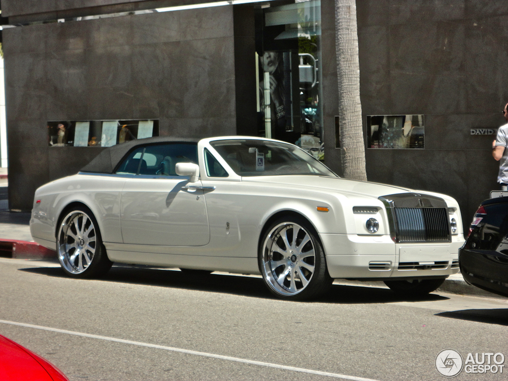 Rolls-Royce Phantom Drophead Coupe 2014 #5