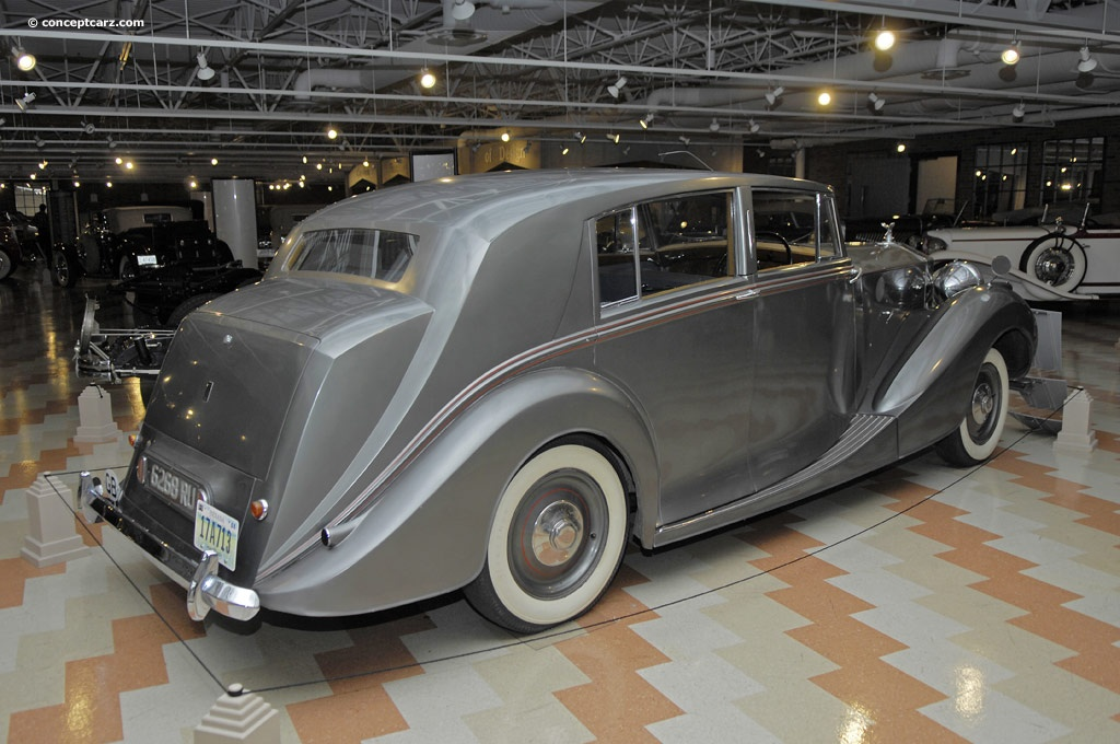 1948 Rolls Royce Silver Wraith Information And Photos