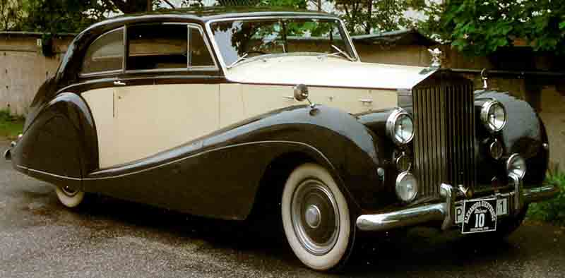 1952 Rolls Royce Silver Wraith Information And Photos