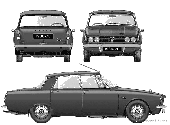 Rover 2000 Series 1967 #7