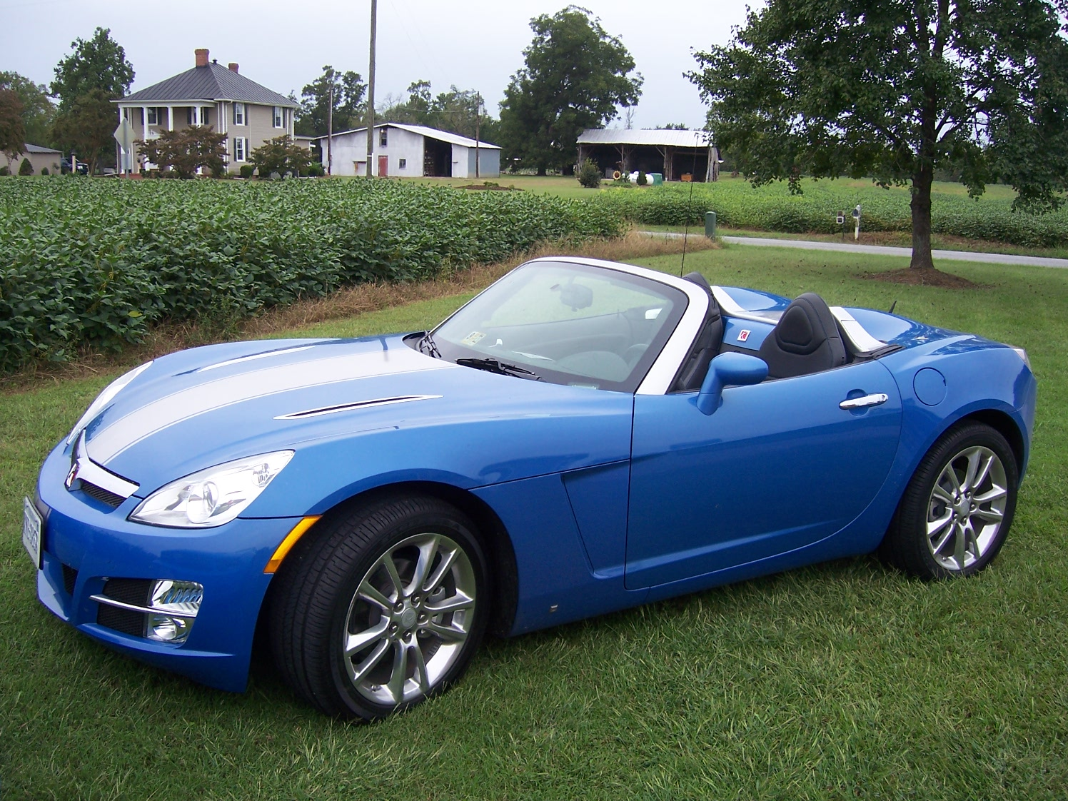 Saturn Sky Hydro Blue Limited Edition #2