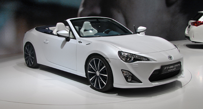 Scion FR-S Convertible 2014 #4