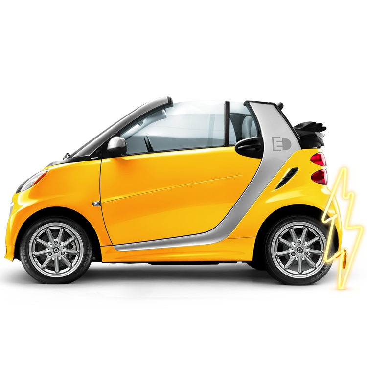smart fortwo electric drive coupe #25