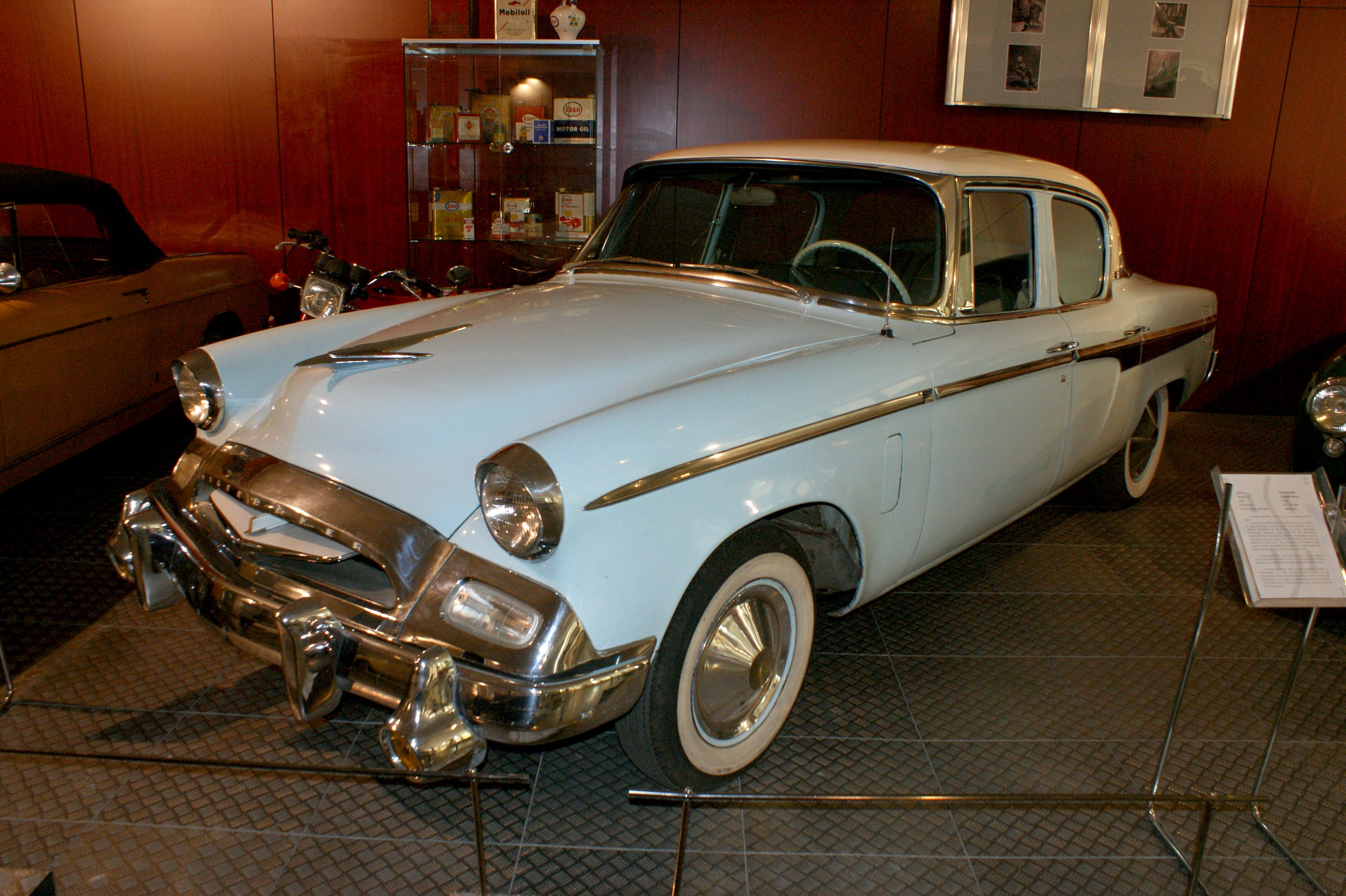 Springfield Buick Gmc >> 1955 Studebaker Champion - Information and photos - MOMENTcar