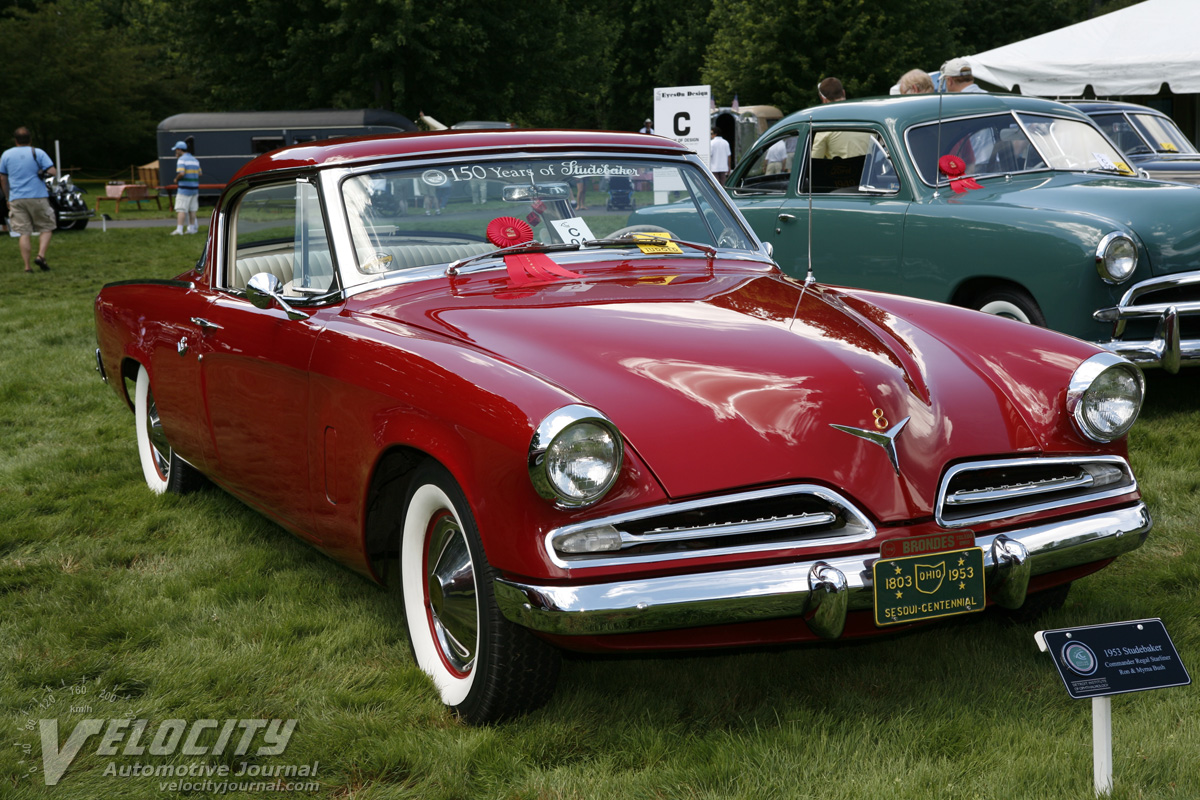 1953 studebaker commander information and photos momentcar - 1953 studebaker champion starlight coupe ...