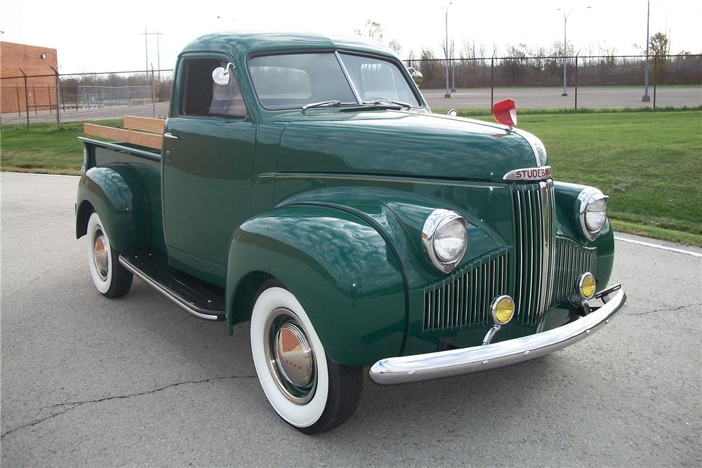 1947 Studebaker Pickup Information And Photos Momentcar