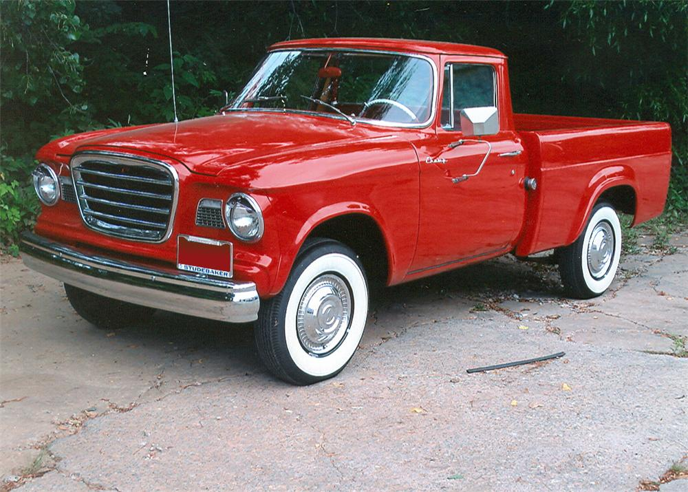 1961 Studebaker Pickup Information And Photos Momentcar
