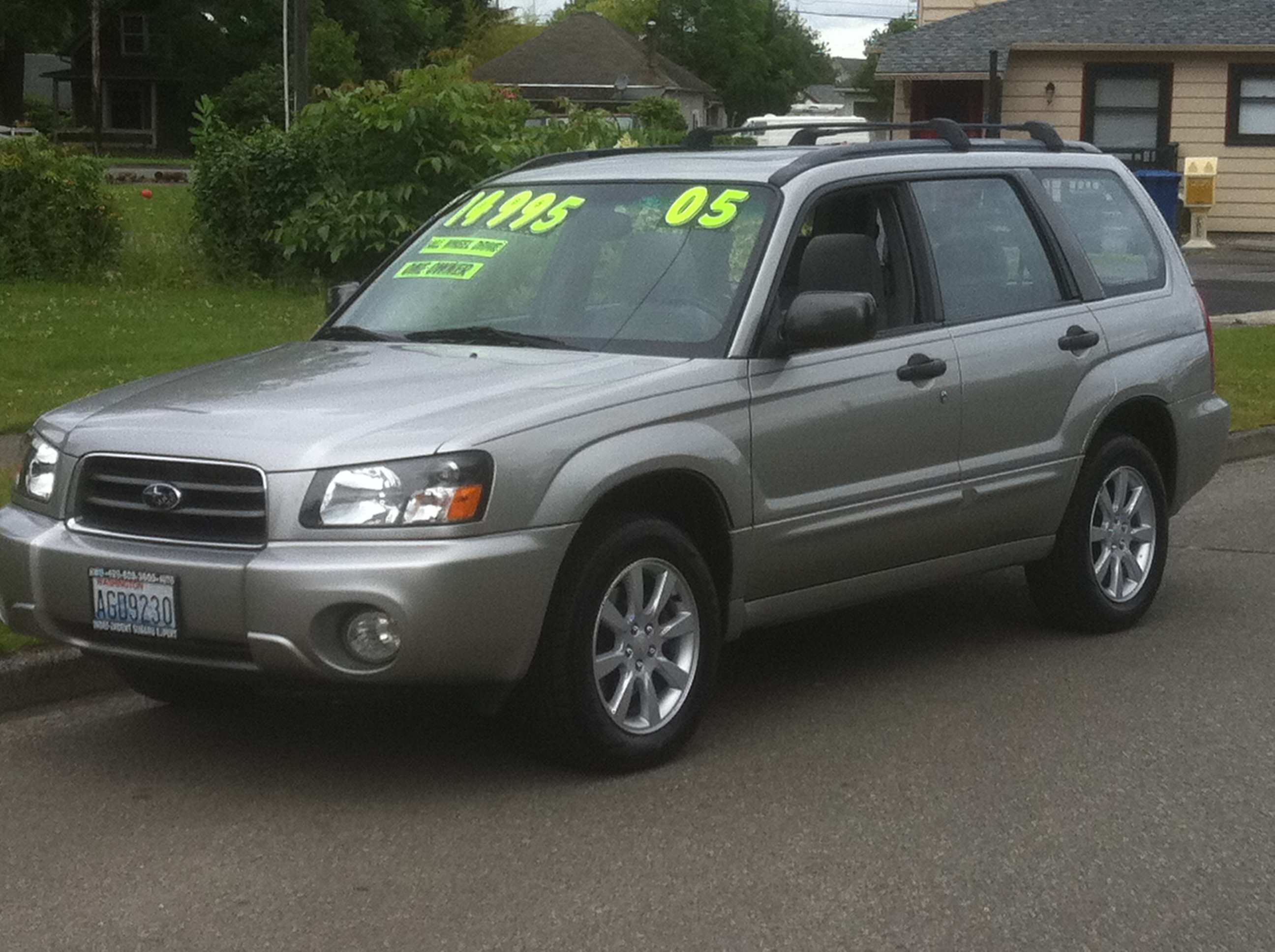 service manual  how make cars 2005 subaru forester on
