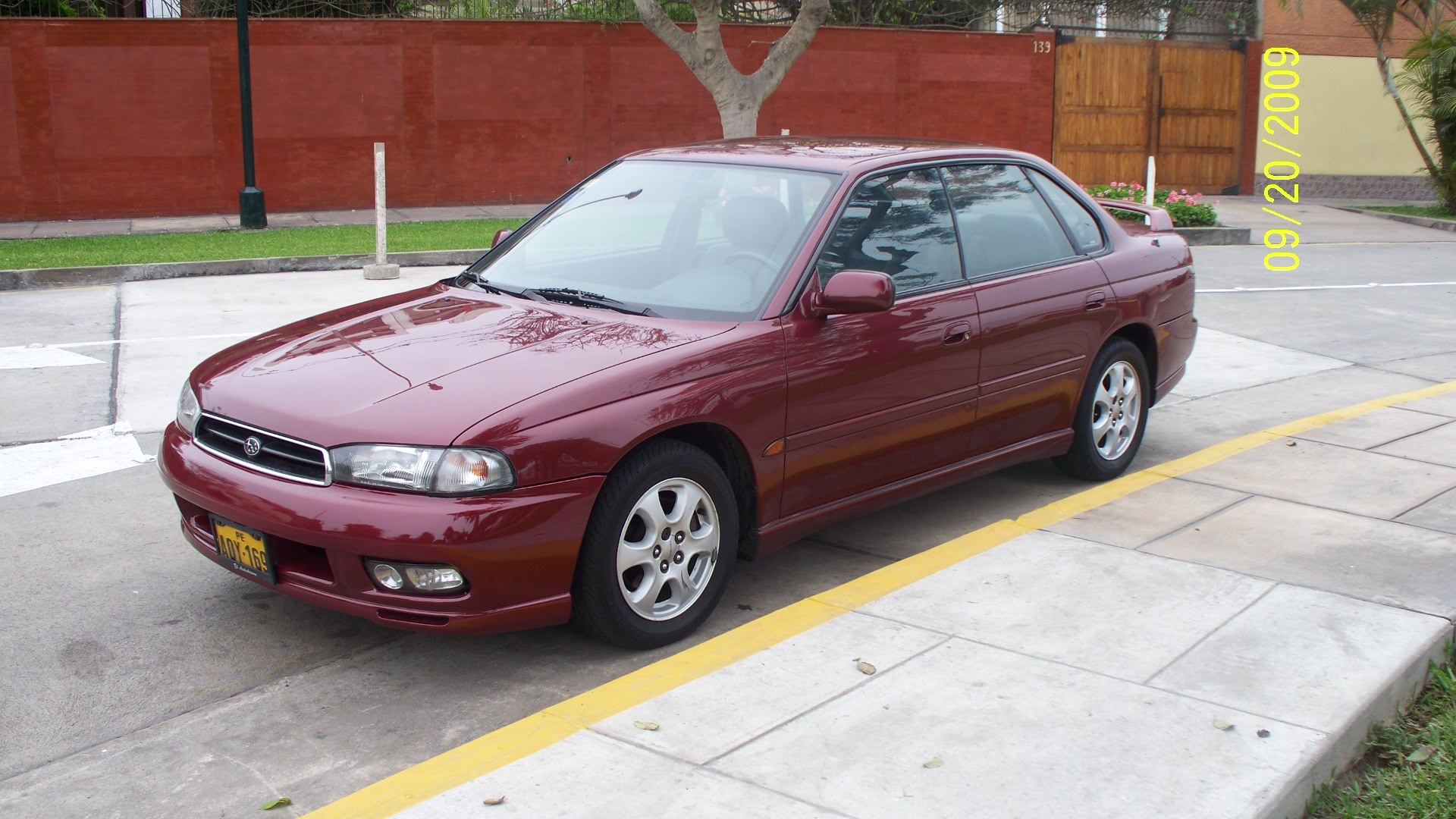 1998 subaru legacy - information and photos - momentcar