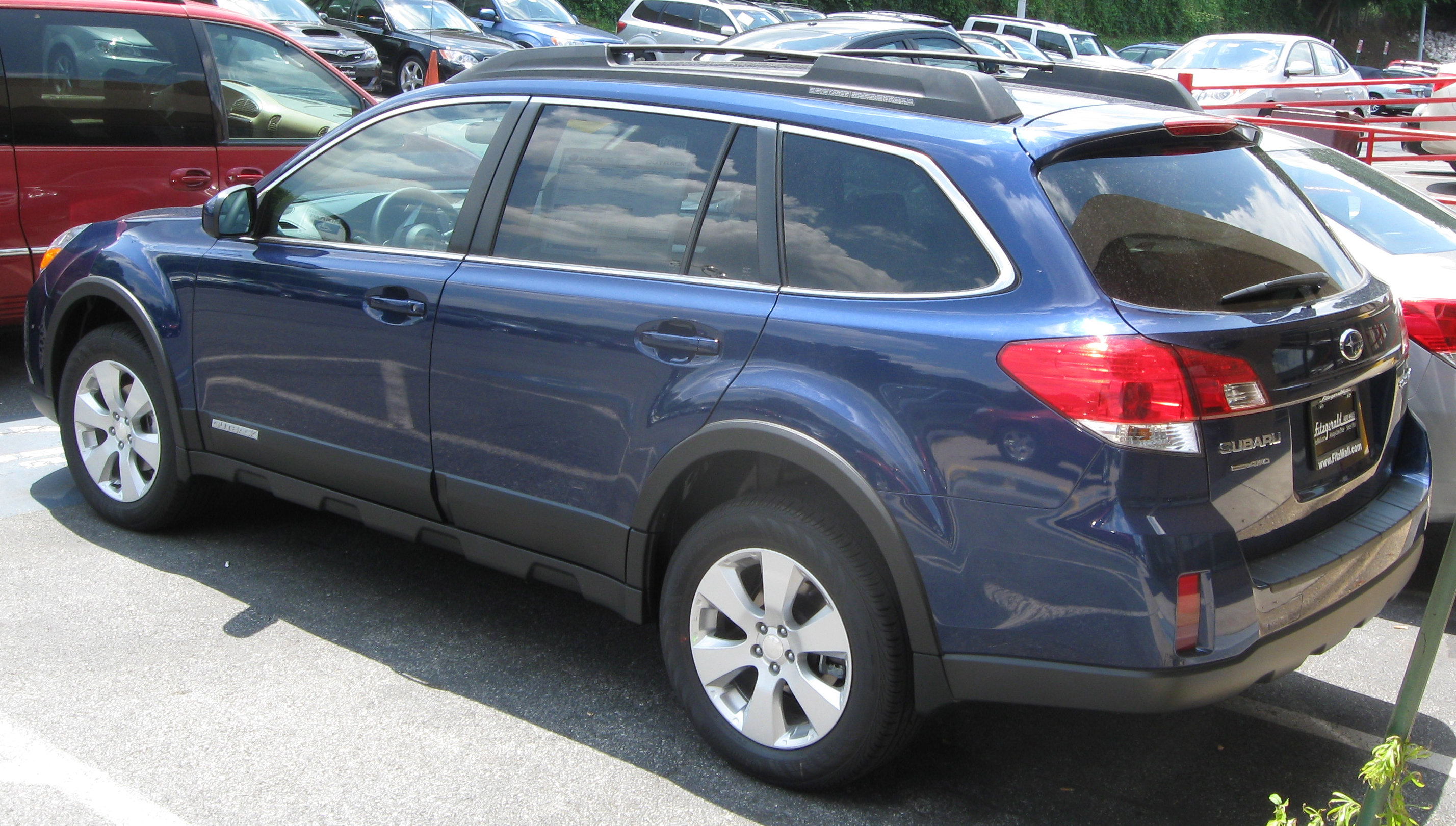 2009 Subaru Outback Research site