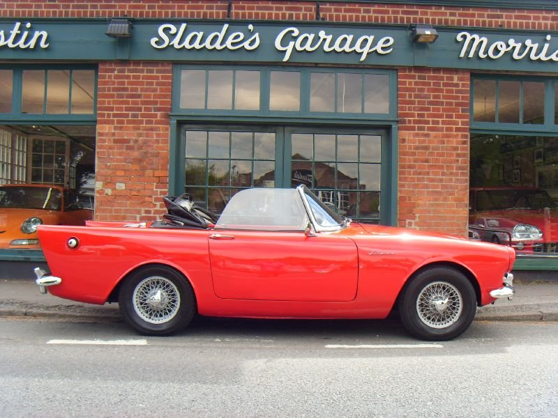 Sunbeam Alpine 1960 #10