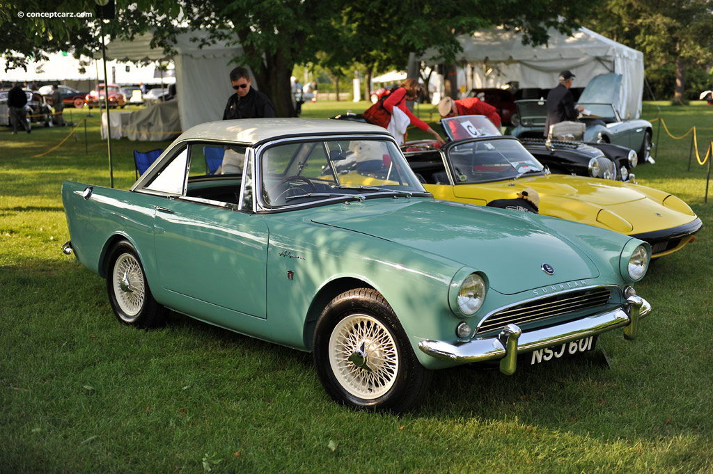 Sunbeam Alpine 1965 #9
