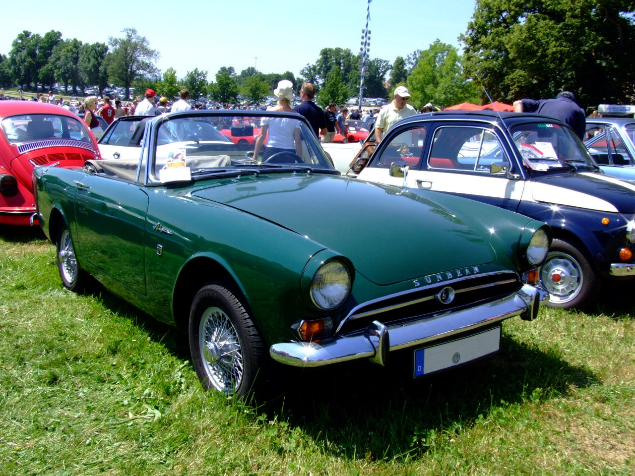 Sunbeam Alpine 1966 #10