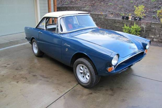 Sunbeam Alpine 1966 #12