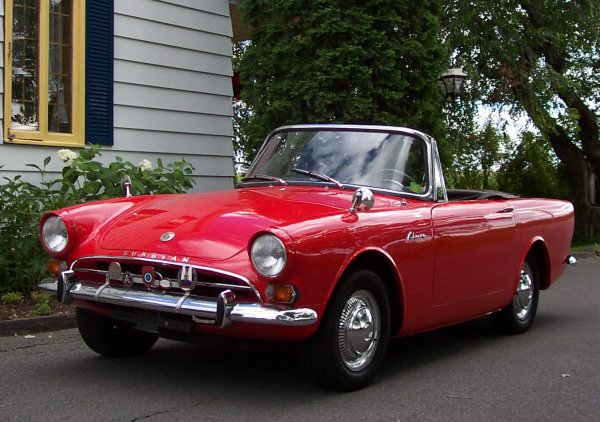 Sunbeam Alpine 1966 #6