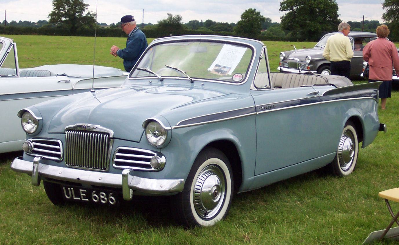 Sunbeam Rapier 1962 #2