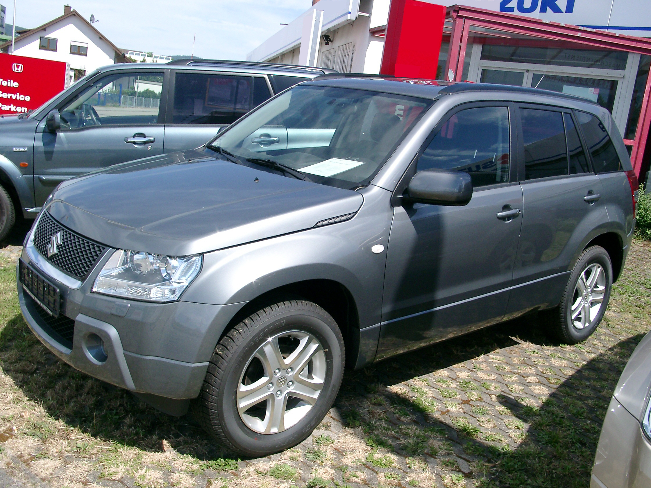 2007 suzuki grand vitara information and photos momentcar. Black Bedroom Furniture Sets. Home Design Ideas