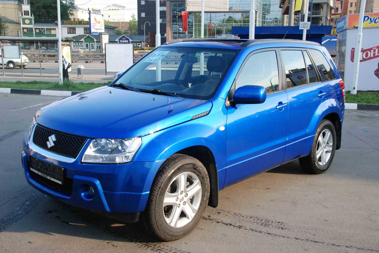 2008 suzuki grand vitara information and photos momentcar. Black Bedroom Furniture Sets. Home Design Ideas