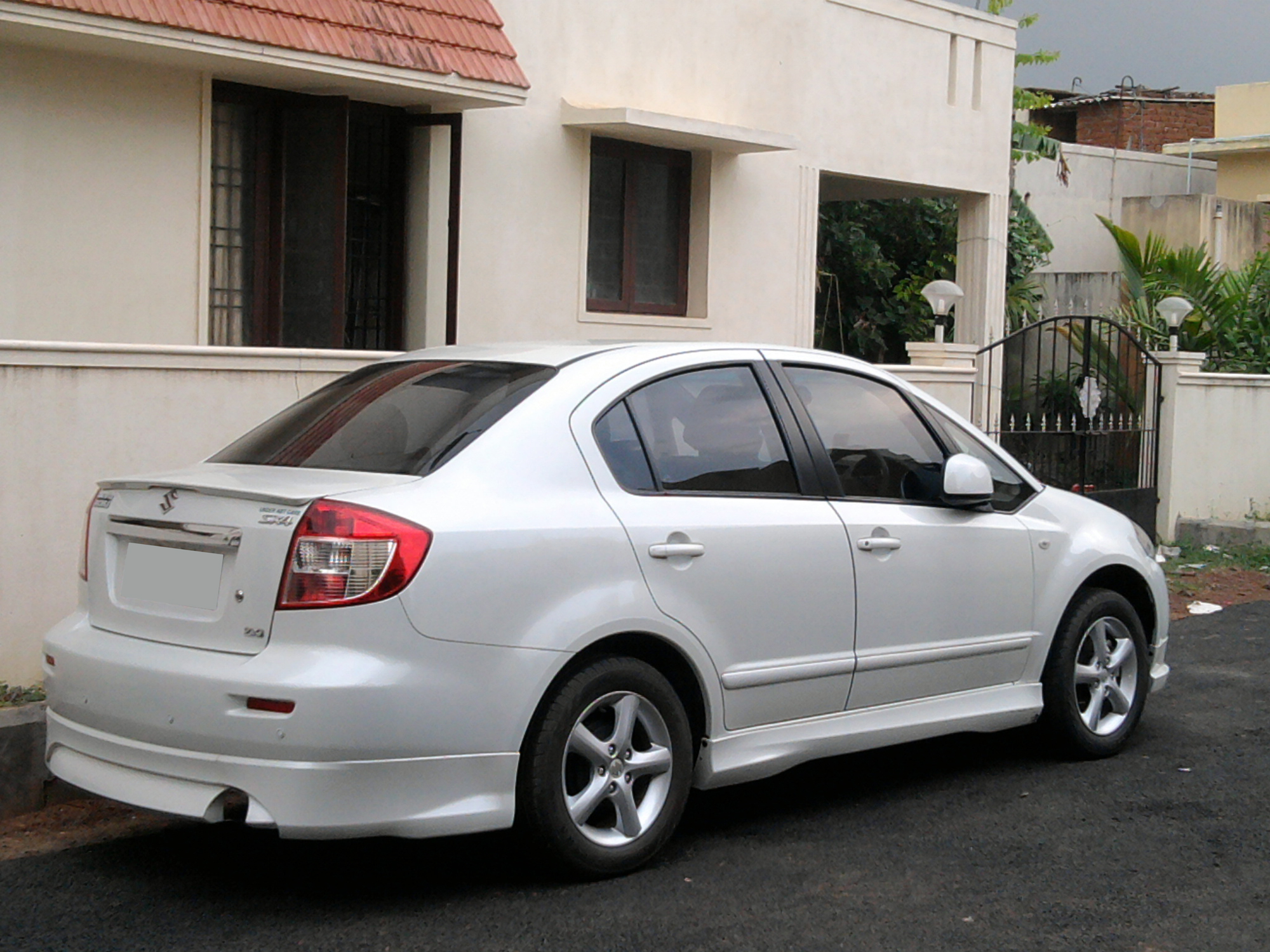 suzuki sx4 information and photos momentcar. Black Bedroom Furniture Sets. Home Design Ideas